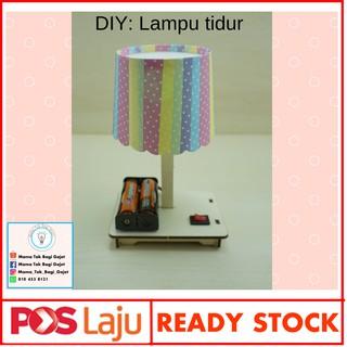 Ready Stock Diy Lampu Tidur