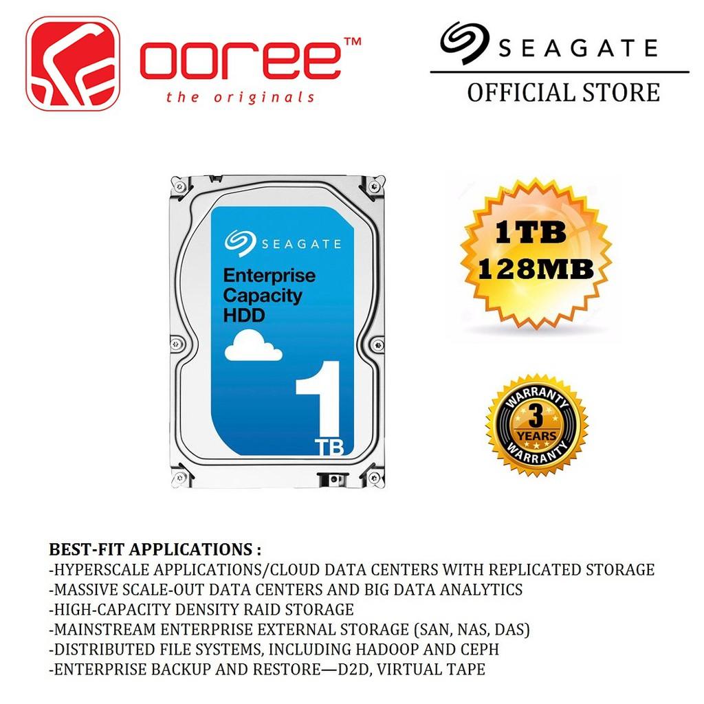 GENUINE HDD INT SEAGATE INTERNAL HARD DRIVES ENTERPRISE SATA lll 1TB/2TB