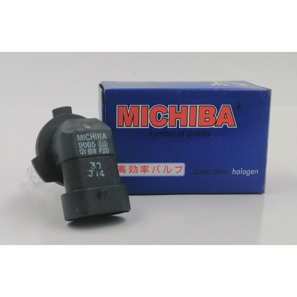 BBM9005 - MICHIBA HALOGEN 9005 (HB3) 12V 65W BULB
