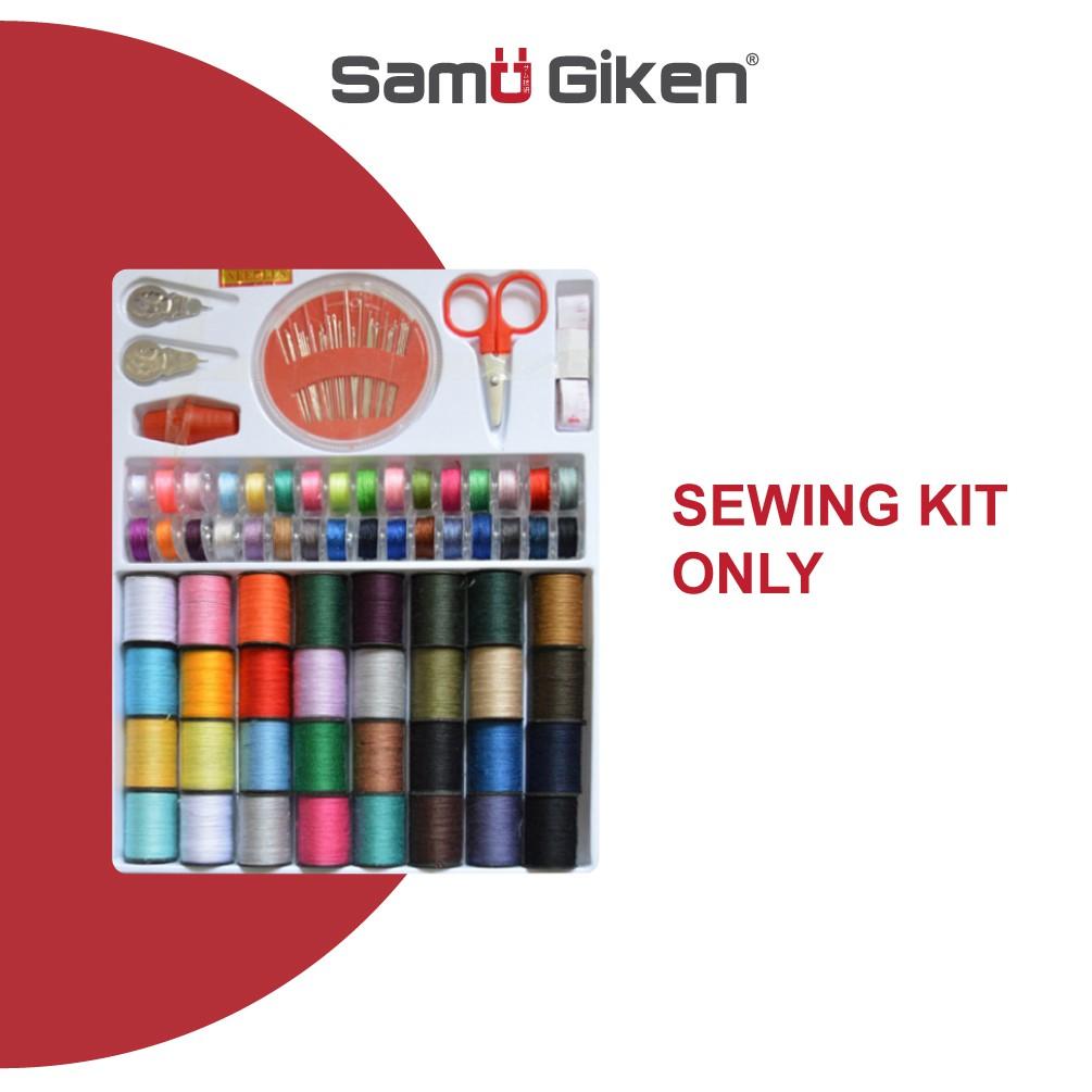 Samu Giken Spools Colorful Sewing Threads Sewing Kits 100 Pcs Set DIY Sewing Kit