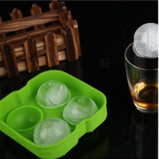 Silicone Ice Ball Cube Maker Tray Sphere Mould DIY Bar Mold Craft Tool silicon