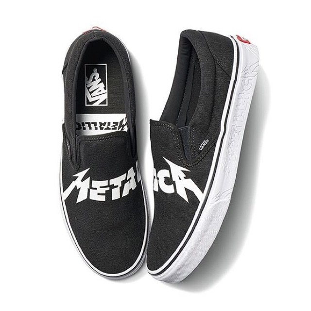 Vans Classic Slip On Metallica  287cba3c75