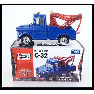 Tomica Takara Tomy Disney Movie Motor C-32 Mater Ivan Type Diecast Toy CARS