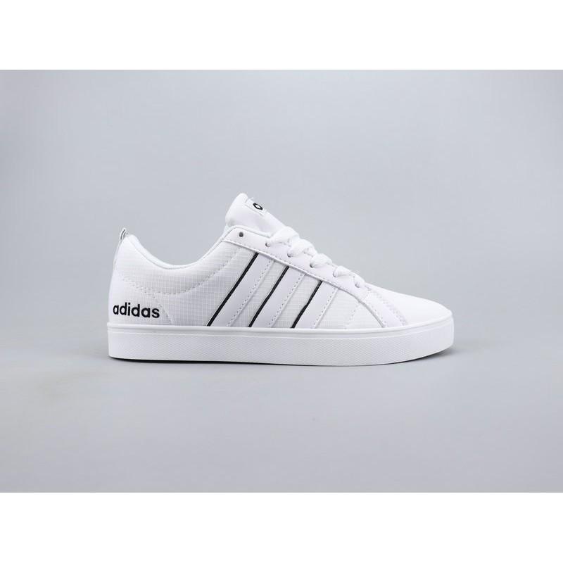 Adidas Neo Pace VS Low Schuhe Grau Weiß Günstig kaufen :