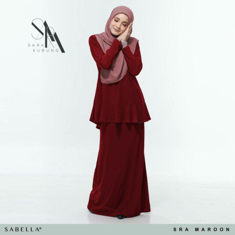 Sabella Sara Kurung  Size XS,M,L [Ready Stock]