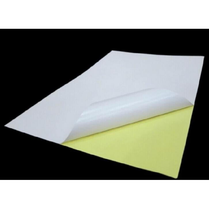 500pcs A4 160g Glossy Sticker Paper Self-adhesive Paper Printing Label