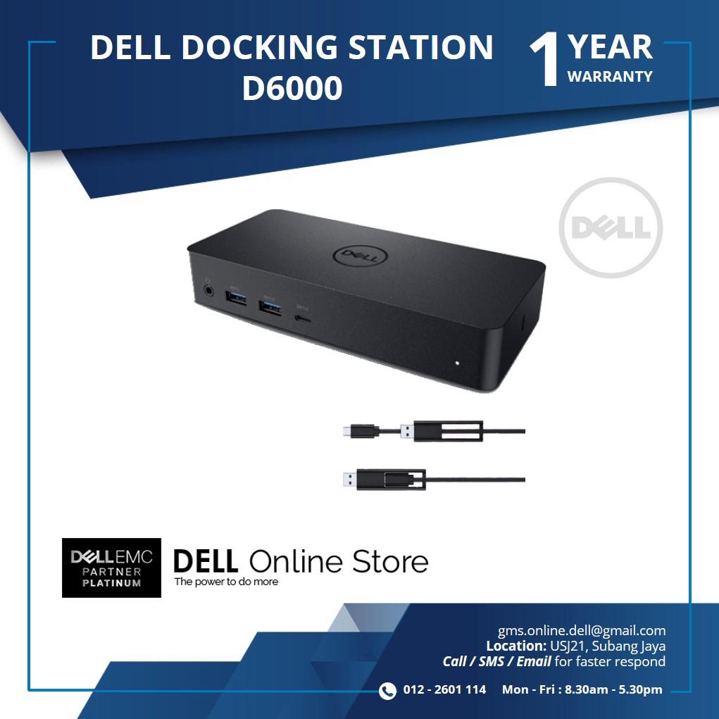 DELL DOCKING STATION D6000