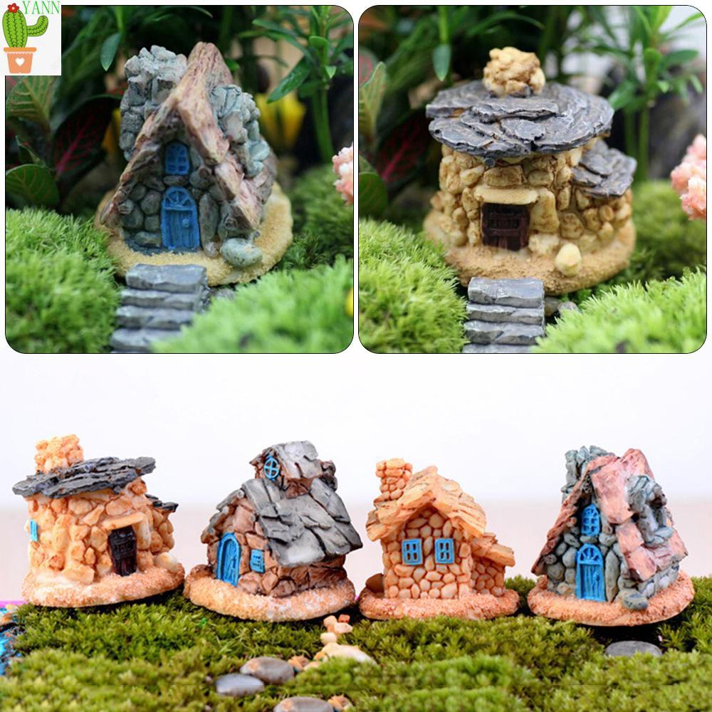 Miniature FAIRY GARDEN Terrarium Accessories ~ Mini HAPPY EVERYTHING Bird Stone