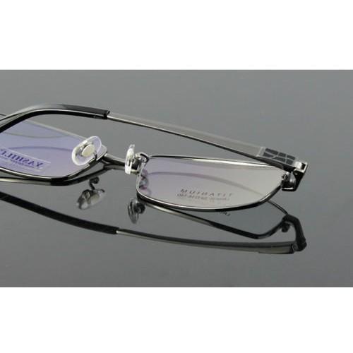Black 100/% Pure Titanium Spectacles Men Full Rim Optic Eyeglass Frame eyewear Rx 8835