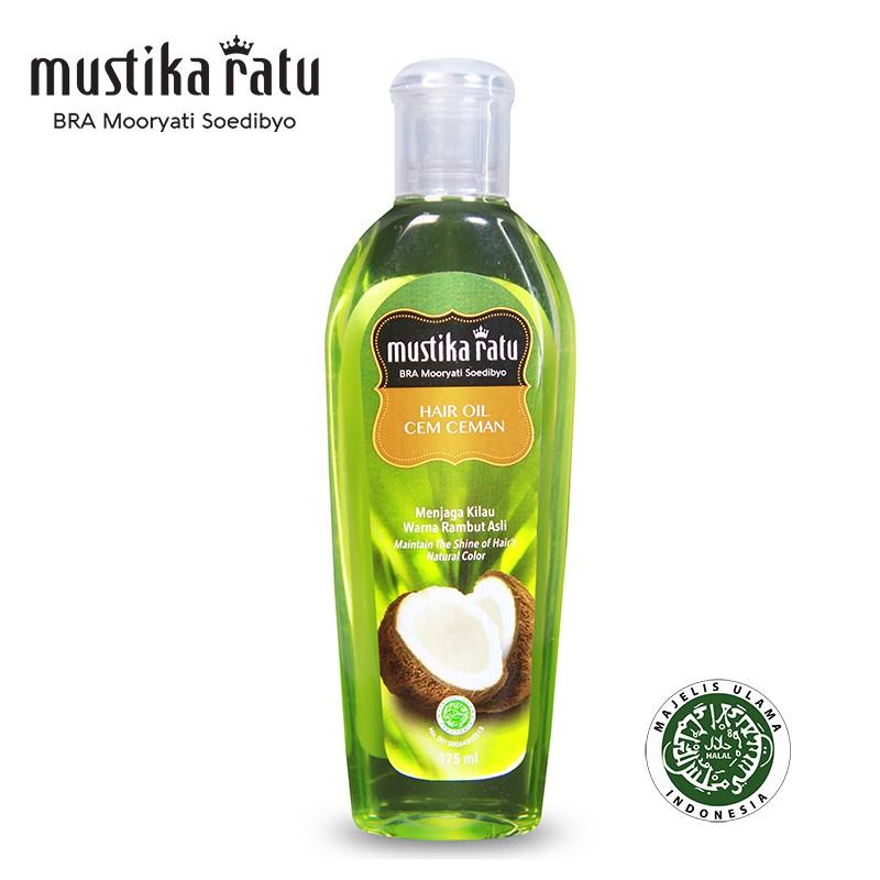 Mustika Ratu Minyak Cem-Ceman For Shiny Hair (175ml)