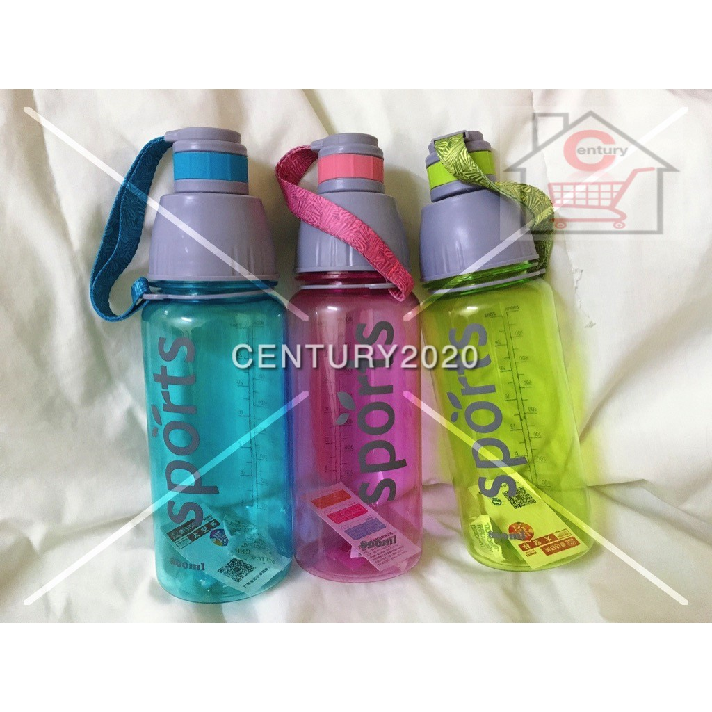RIMEI Sports Water Bottle Double Mouth Leak Proof Space Cup Travel Mugs With Strap Outdoor Travel Portable Bottle 28oz