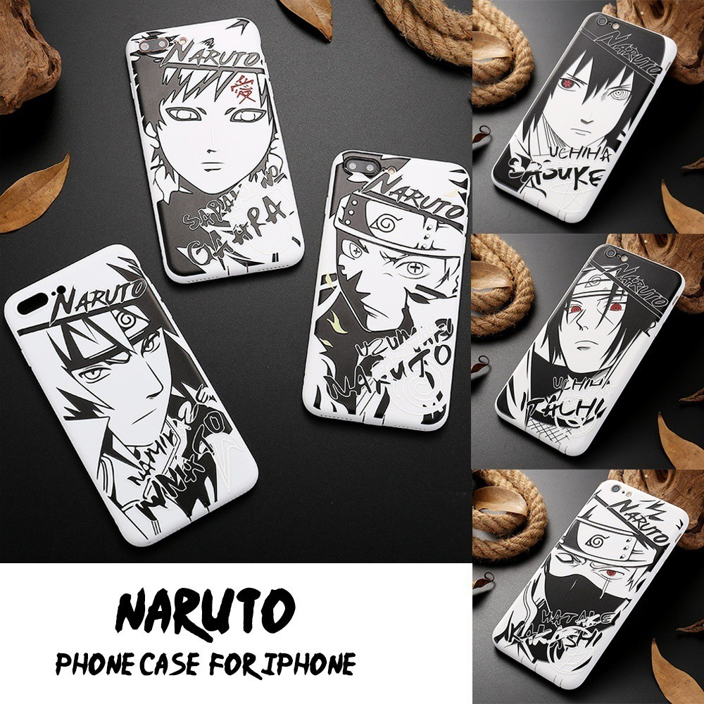 Cool Anime Naruto Relief Cell Phone Case