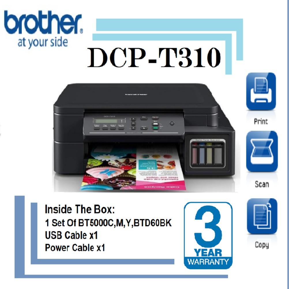 descargar driver brother dcp-t310