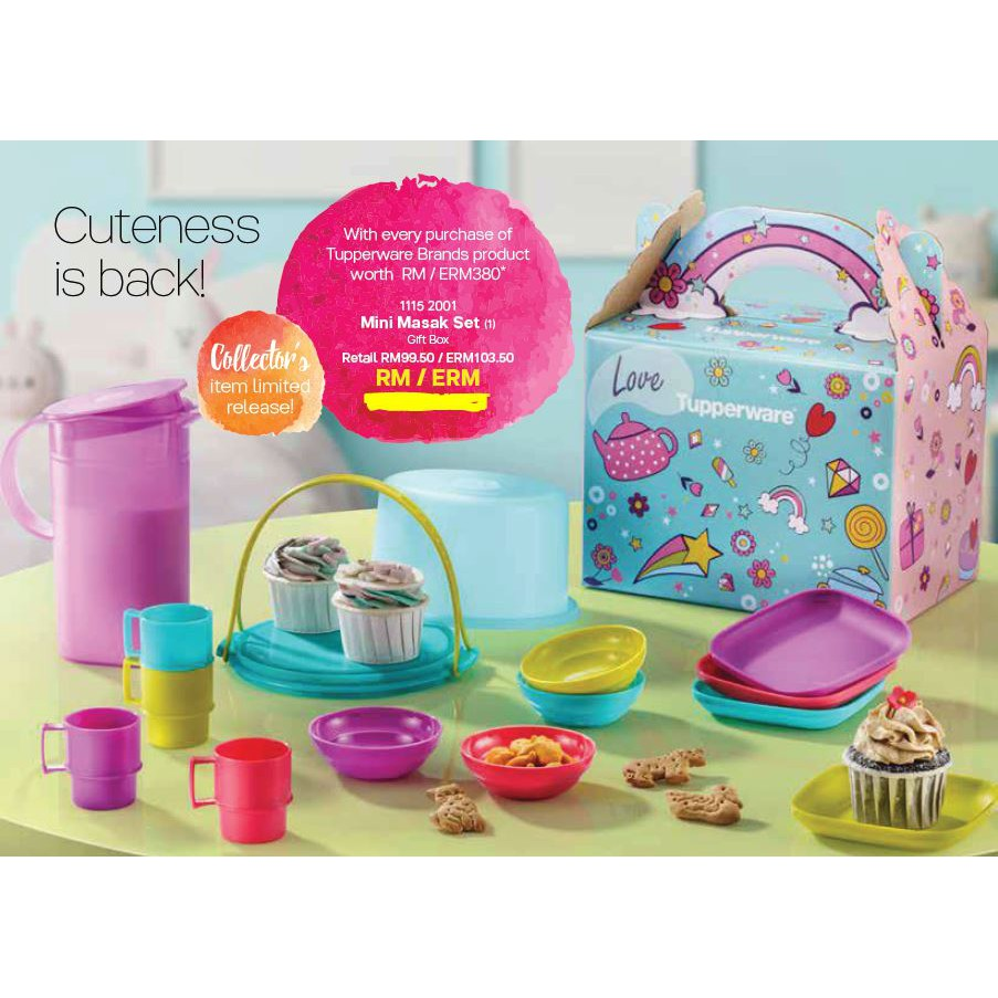 Tupperware Mini Masak Set with Gift Box (1)