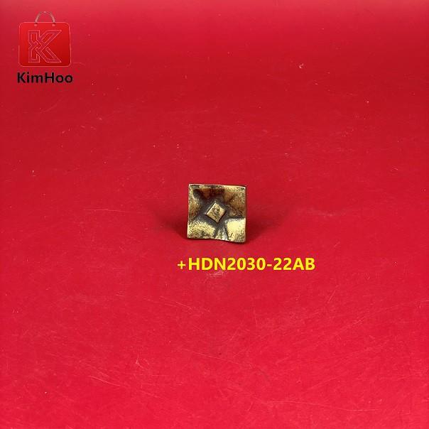 KIMHOO High Quality Vintage Furniture Cabinet Handle Knobs +HDN2030-22AB