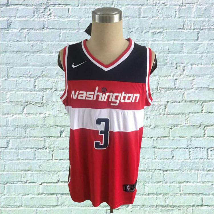 a01e4804 cod Bradley Beal #3 Washington Wizards NBA JerseyHighquality ...