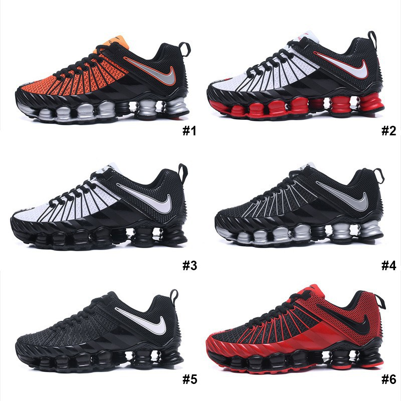 best service 0ab4a 22b0d New Color Nike Shox TLX Sports Shoes Fashion Mens Shoes Casual
