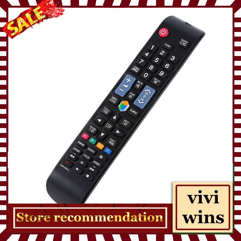 TV Controller Replacement Remote Control for Samsung LCD LED Smart TV  Digital TV