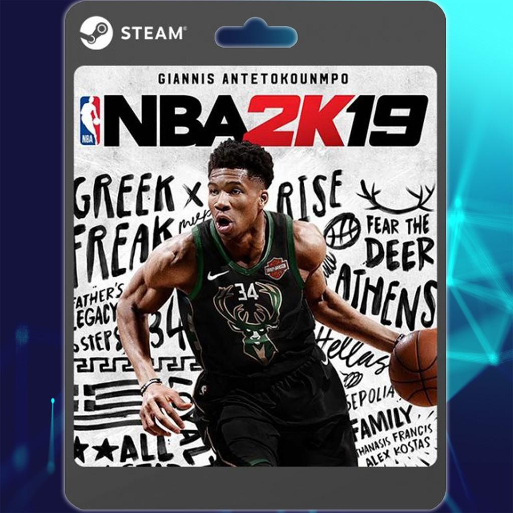 STEAM NBA 2K19 Standard / Anniversary Edition (Steam PC)