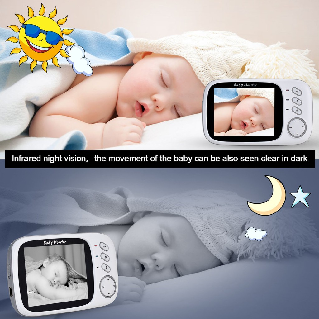 My Daughter Sleeping Night Vision