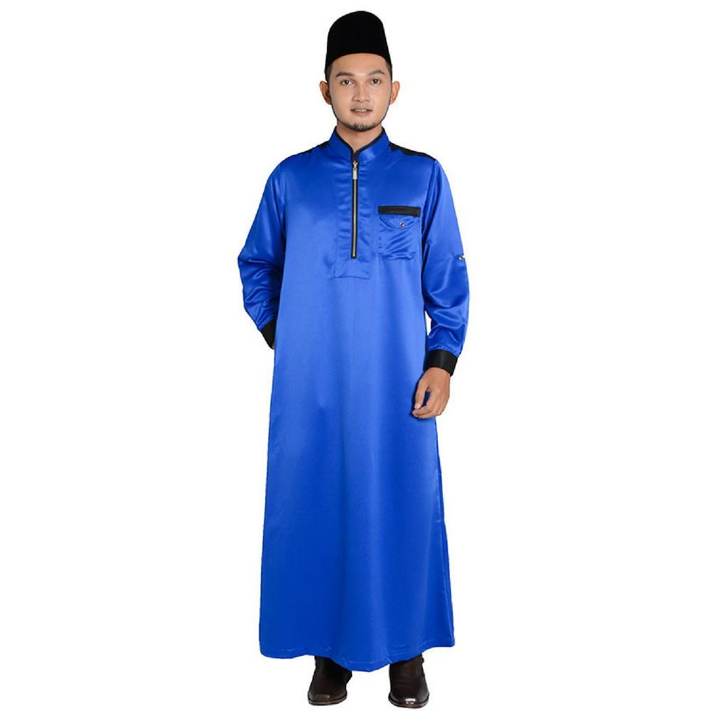 MyTrend Jubah Lelaki Hesyam - Blue  43ce04aac3
