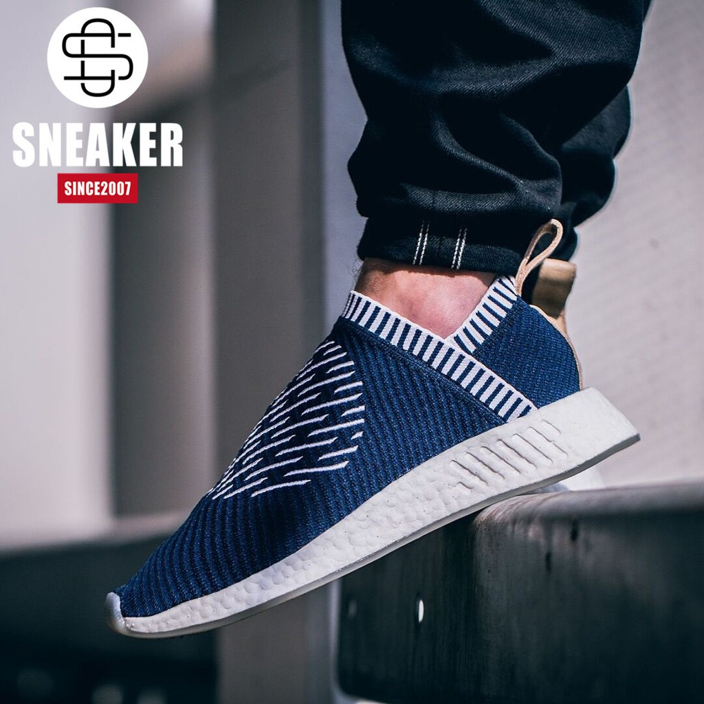 buy popular 508b3 765d8 Authentic Adidas NMD City Sock PK BA7189 leisure men and women running shoes