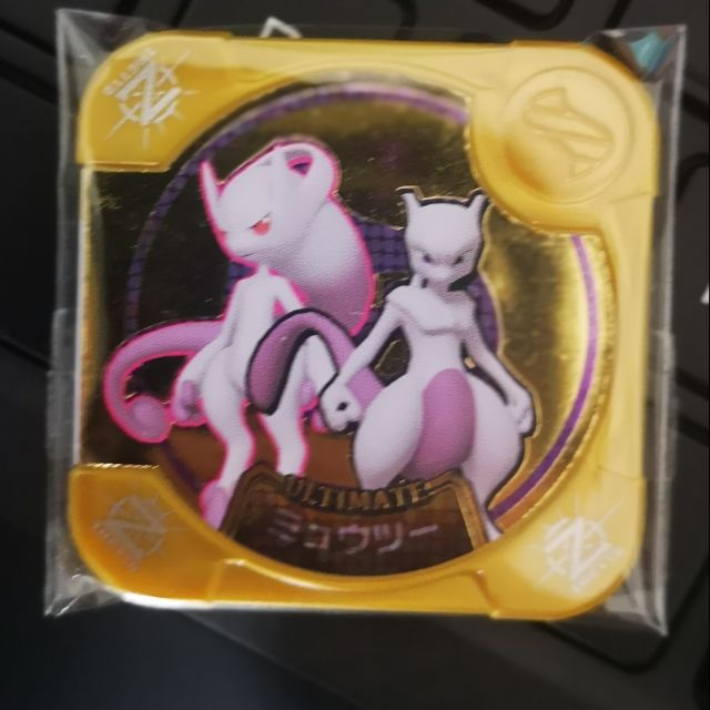 (Free Hard Cover) Pokemon Tretta Mewtwo Z3 Ultimate Class Mega Evolution Mew Mewtwo Y