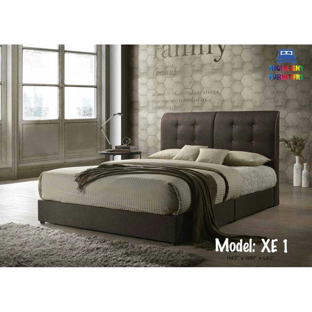 Katil Divan Queen Size Bed 1 Set