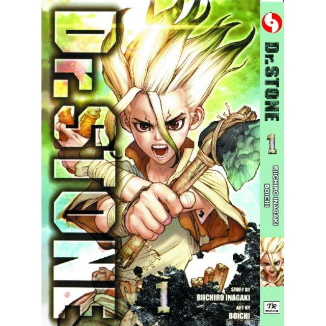 (READY STOCK)Komik Dr .stone by Boichi manga shounen