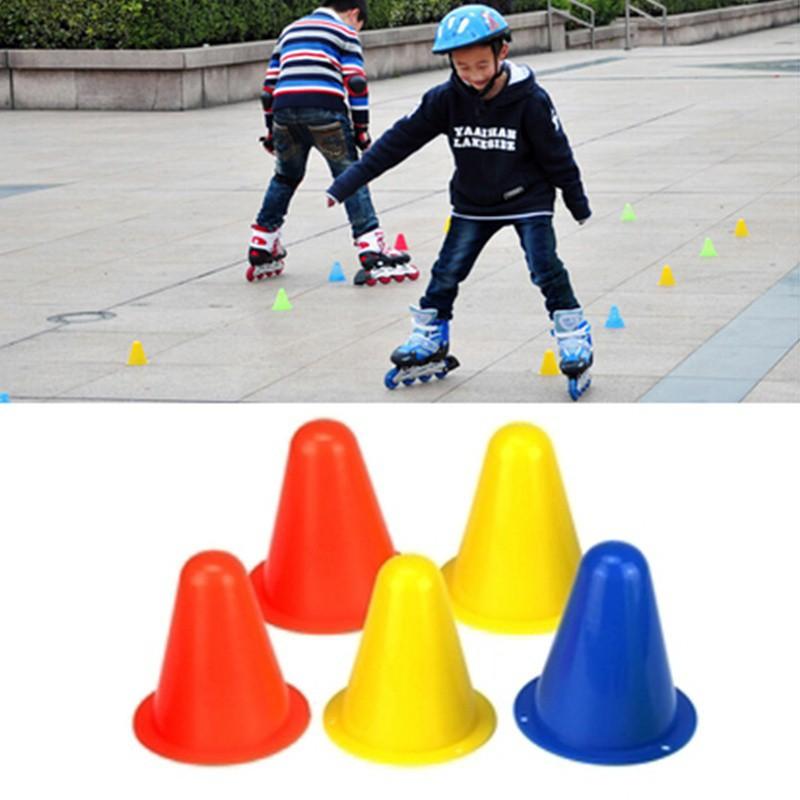 10X Roller Skates Roadblock Football Cones Roller Training Equipment UK Stock