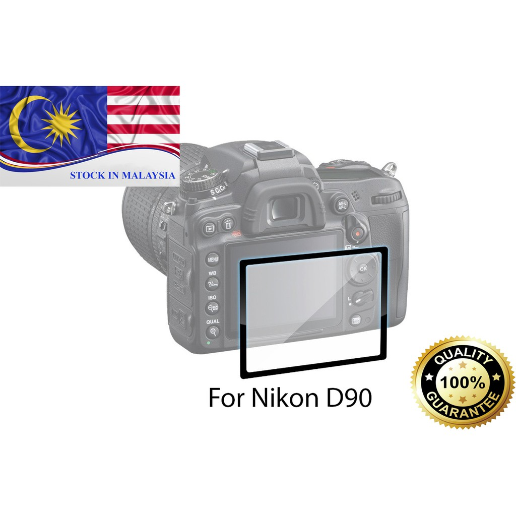Nikon D90 Fotga Professional Optical Glass LCD Screen Protector (Ready Stock In Malaysia)