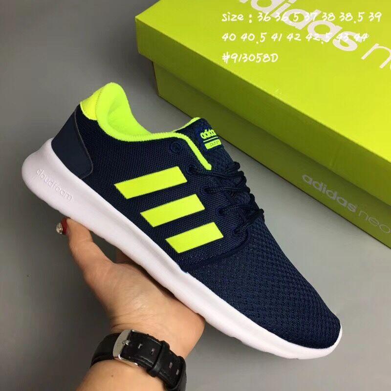 Women's men's shoes Adidas CF QT NEO couple shoes running shoes Kasut