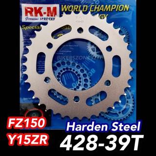 YAMAHA FZ150 / Y15 - MCS Harden Steel - 428 FRONT and REAR Sprocket Set