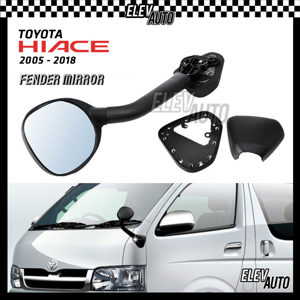 Toyota Hiace 2005-2018 Safety Blind Spot Mirror for Passenger Side