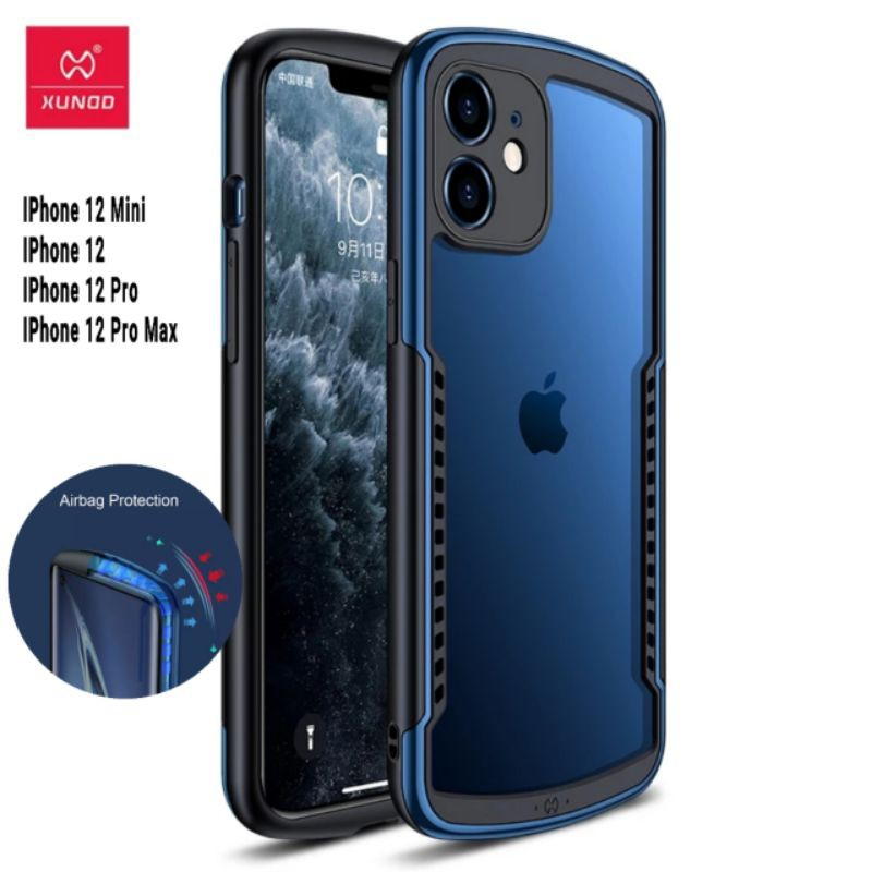 Xundd Case For iPhone 12 Pro Max Case Shockproof Cover Protective Matte Back Case For iPhone12 Mini Pro Max