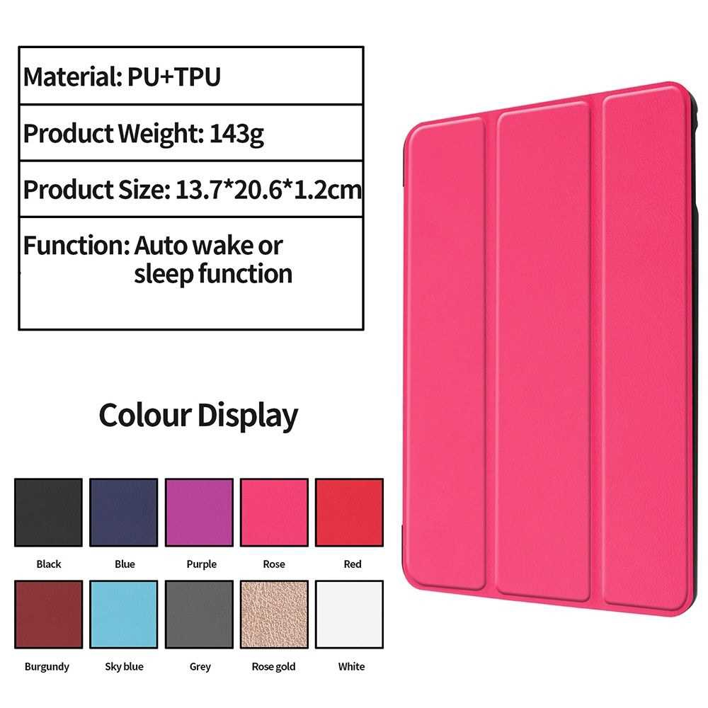 Tablet Cover Slim Light-Weighted Auto Sleep Wake Function Full Screen Display Hassle-Free Operation Case for iPad Table