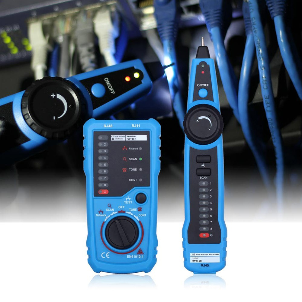 Portable Handheld Network Cable Wire Line Tracker Tester Network cable dete