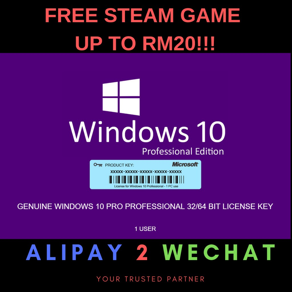 Microsoft Windows 10 Pro/Home/Ent/8/8 1Pro/7Pro/Ultimate Office[Free Steam  Game]