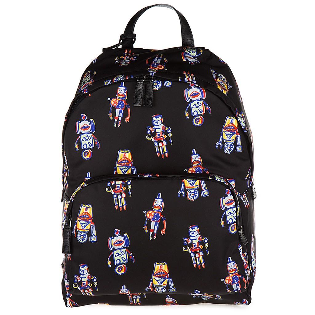 2b1924164d1f Prada Robot Series Nylon Backpack - Black 2VZ066 2EM3 F0002 | Shopee  Malaysia