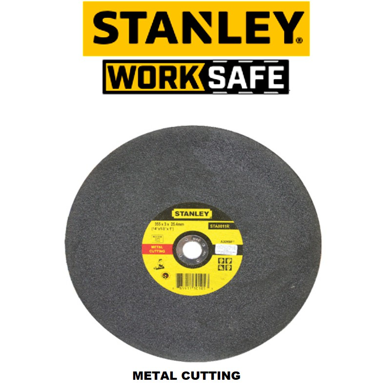 STANLEY STA8012R  16'' 3.0MM METAL CUTTING DISC
