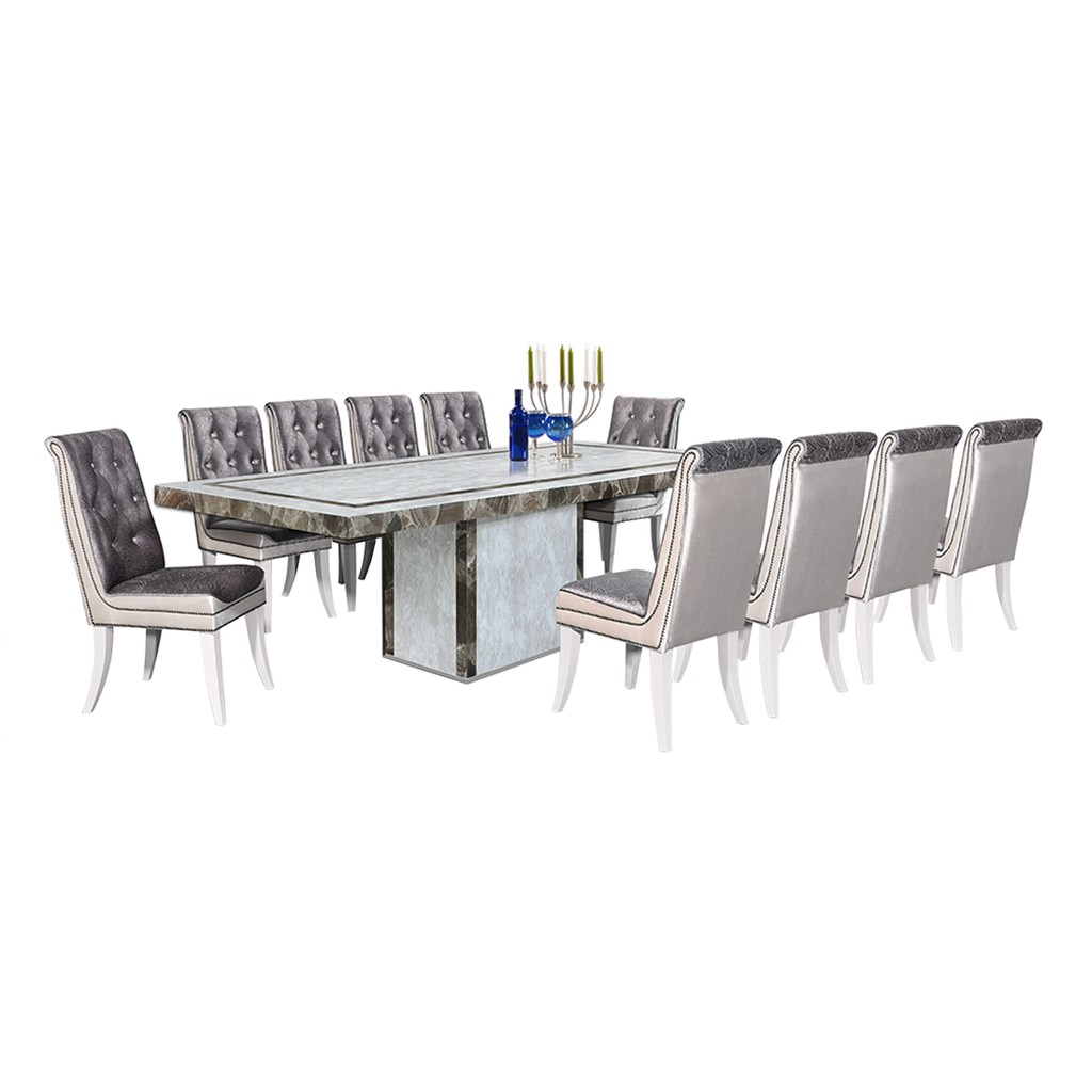 Luxury Design Marble Dining Table Set