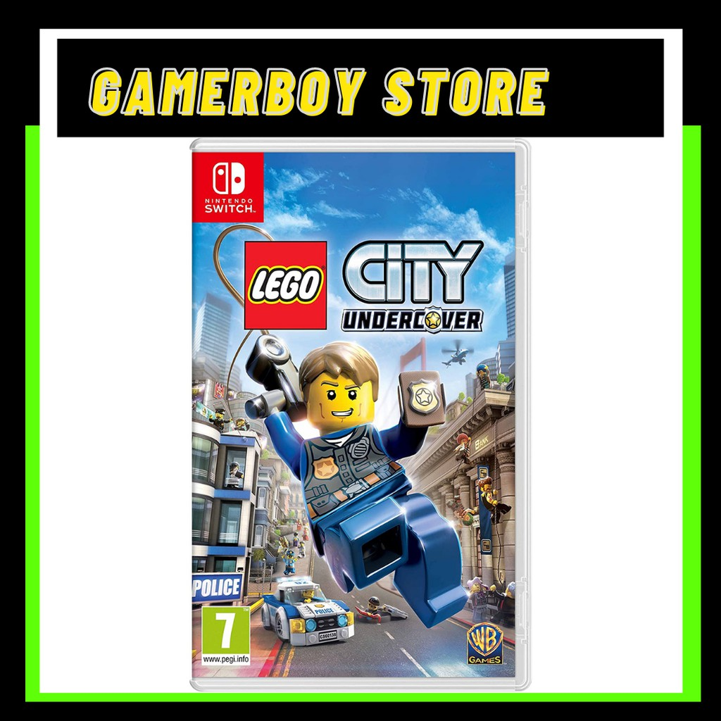 NINTENDO SWITCH LEGO CITY UNDERCOVER (PHYSICAL)