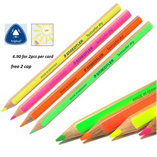 Staedtler Textsurfer Dry Highlighter Pencil 128 64 Drawing Fluorcent 4mm 4pack