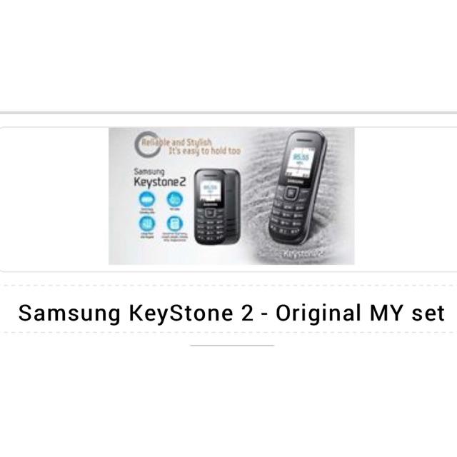 Samsung Keystone 2 E1205y Shopee Malaysia