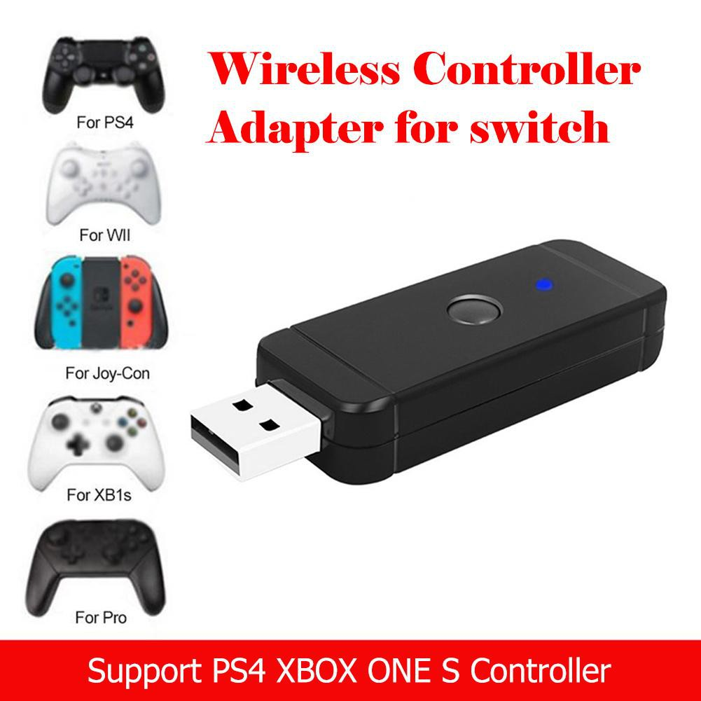 ☞SCS☜Bluetooth Converter Wireless Gamepad Adapter Compatible with Nintend  Switch