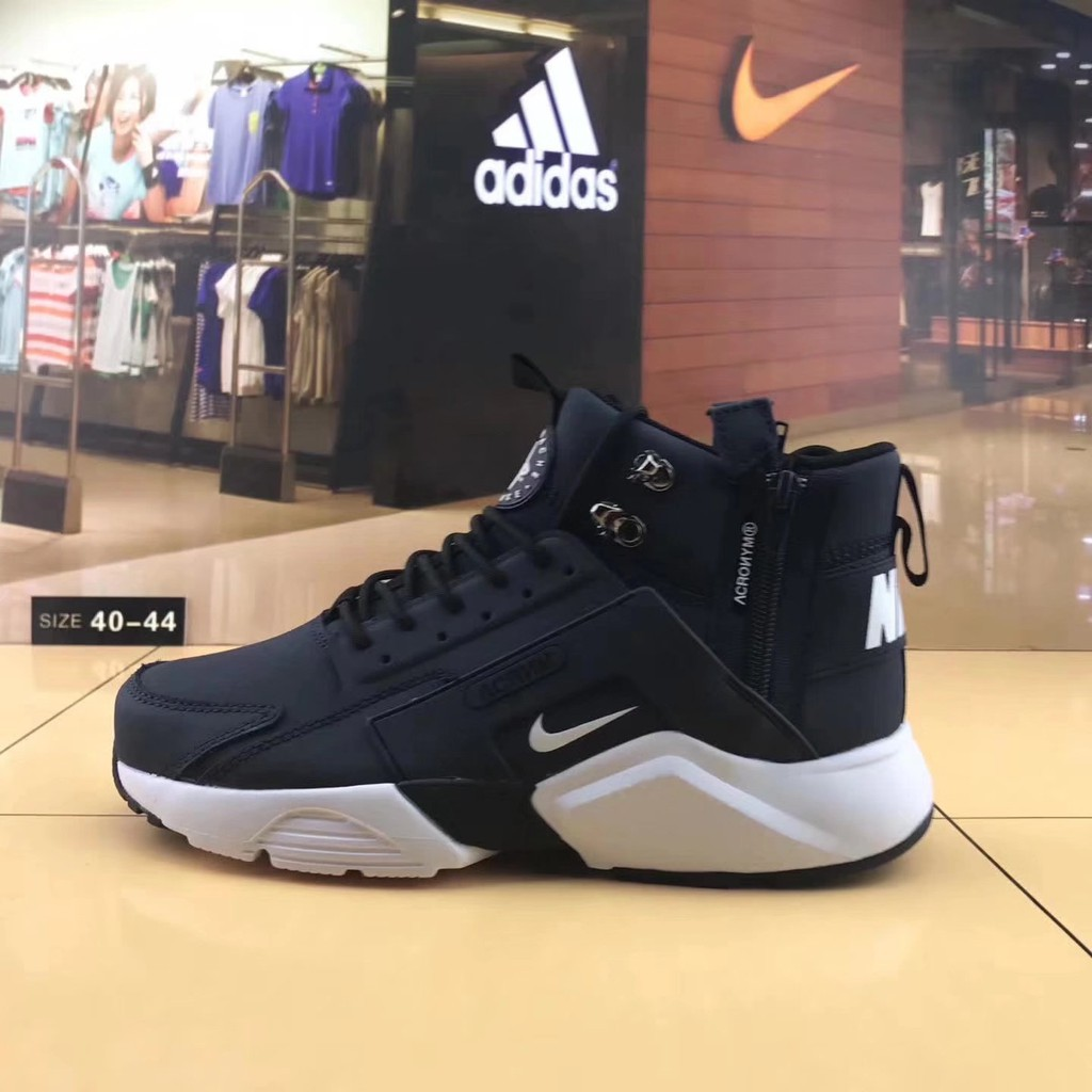 e336d543b57b Original Nike Huarache X Acronym City MID Leather men s sports shoes  sneakers