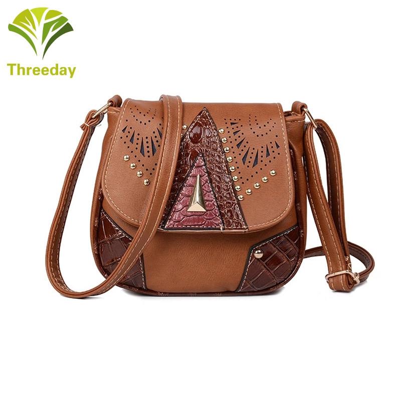 a5fd771cf598 3Day Women Girl Hollow Out PU Crossbody Bag Messenger Bag | Shopee ...