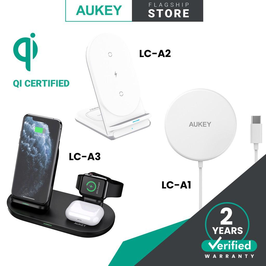 Aukey Aircore Series  15W / 10W / 7.5W / 5W Wireless Charging Station Wireless Charging Stand Wireless Charging Wire