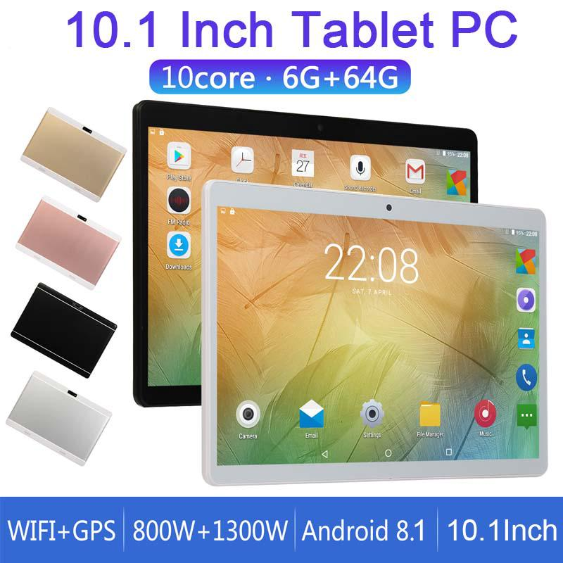 10 1 Inch 10 Core 6GB RAM+64GB ROM Tablet PC 3G Call Tabletphone Phablet