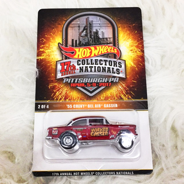 Hotwheels Convention 55 Chevy Bel Air Gasser Shopee Malaysia